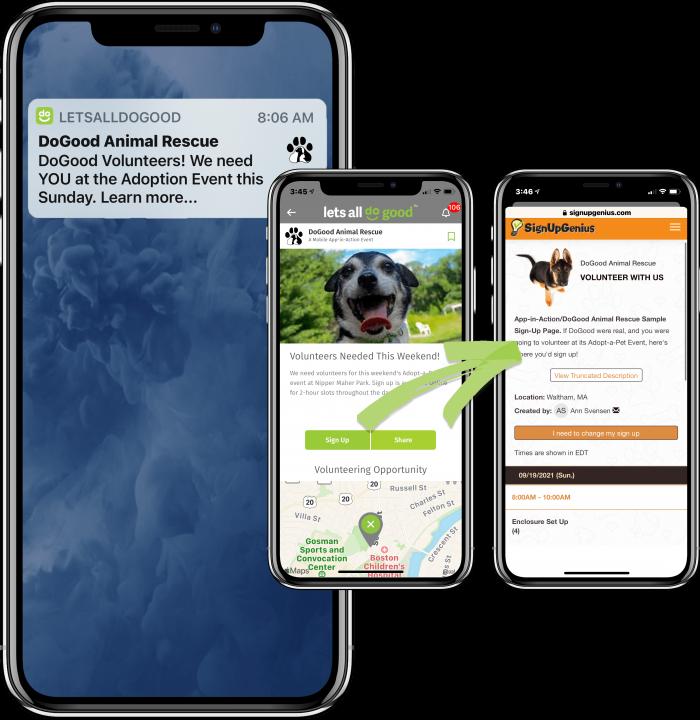 App in Action Landing Page Graphics VOLUNTEER v1-min